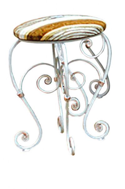 Банкетка круглая «Орхидея»