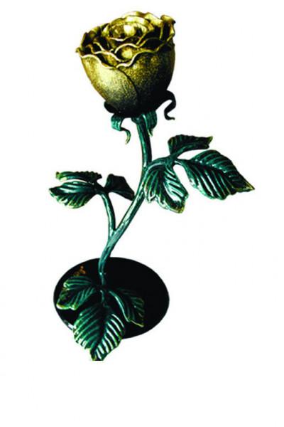 Роза на подставке